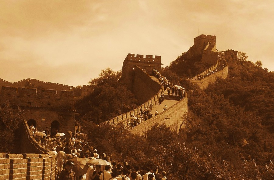 Great Wall of China.