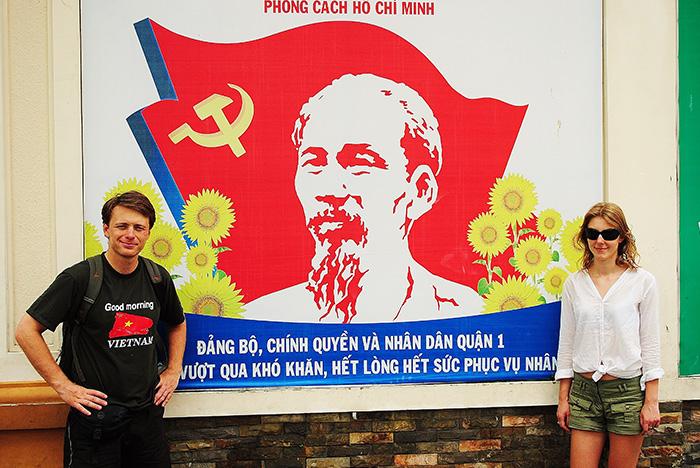 Niestety ale komunizm w Wietnamie stał się częścią popkultury i czerwona gangrena nie jest leczona