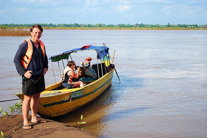 Laos - wypatrywanie delfinów Irrawaddy