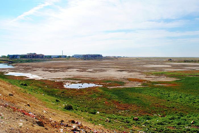 """Katastrofa ekologiczna Morza Aralskiego - Aralska """"riwiera"""""""