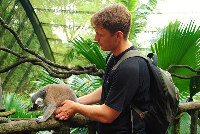Zoo w Singapurze było jednym z moich ulubionych miejsc