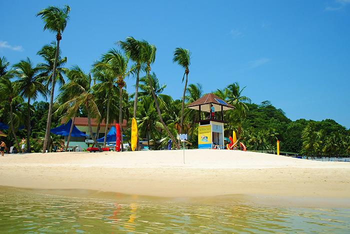 Wyspa Sentosa - plażowy raj Singapuru