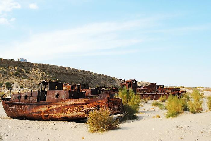 Katastrofa ekologiczna Morza Aralskiego