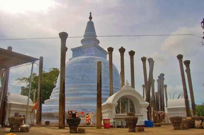 Antyczne miasta Sri Lanki.