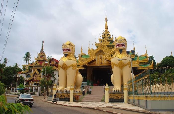 Yangon - Shwedagon Pagoda.