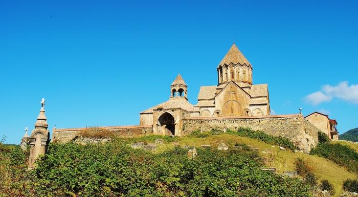 Górski Karabach - kościół Gandzasar.