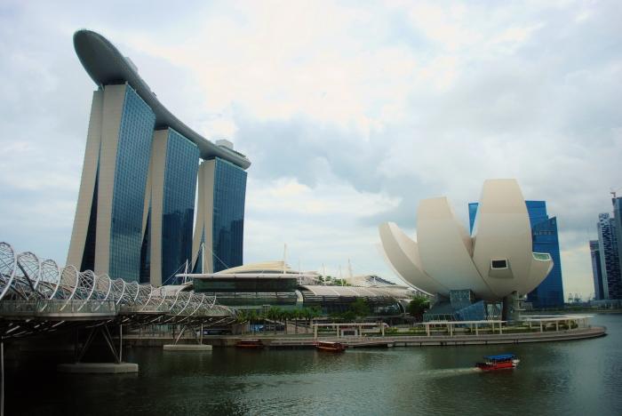 Singapur. Marina Bay.