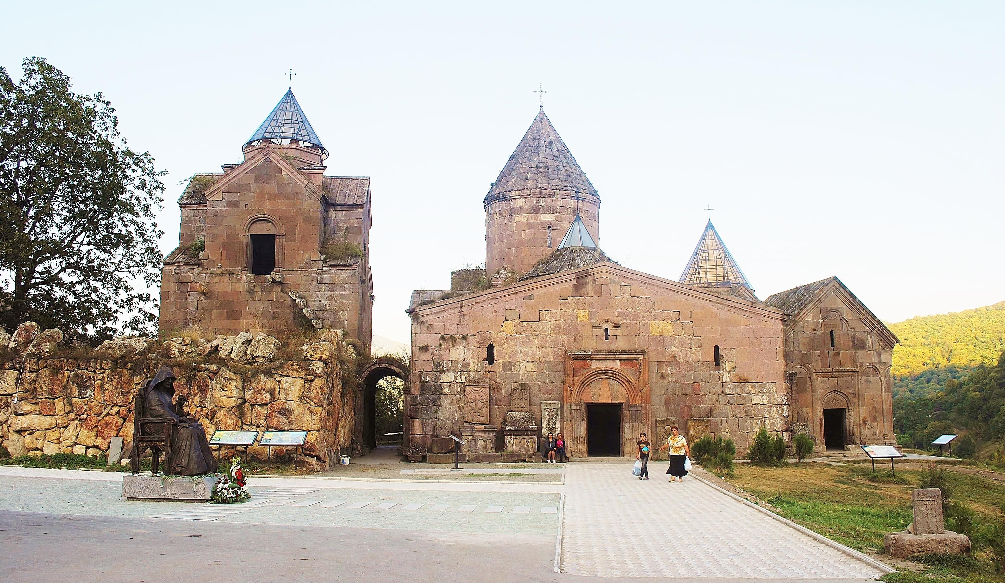 Armenia - monastera Goshavank.