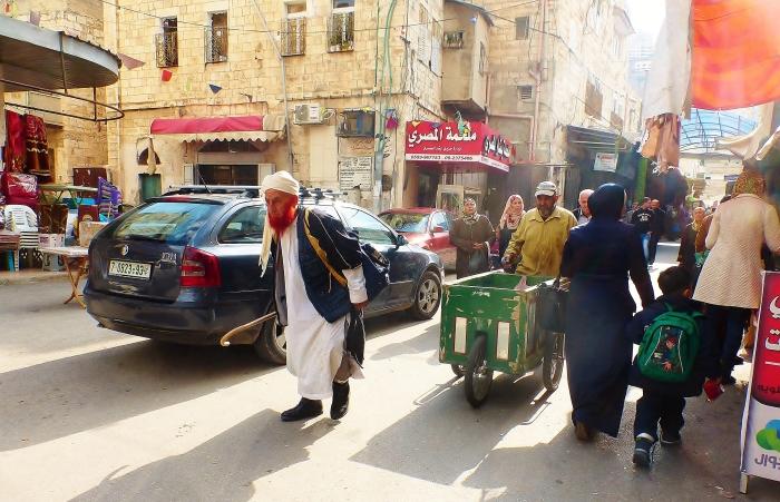 Nablus - scena ze Starego Miasta.