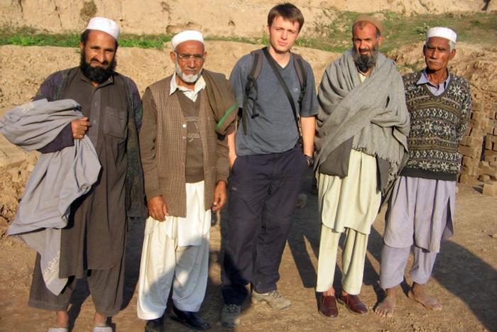 Obóz Uchodźców Afgańskich oraz cegielnia niedaleko Afganistanu, Pakistan.