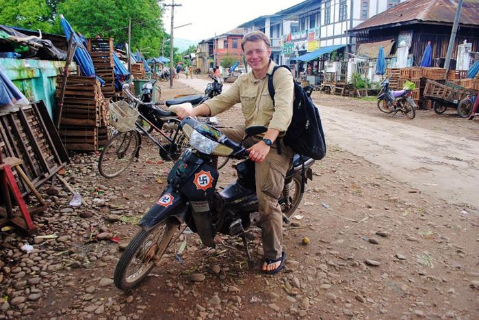 Wygląda na to, że jestem gotowy do akcji. Birma.