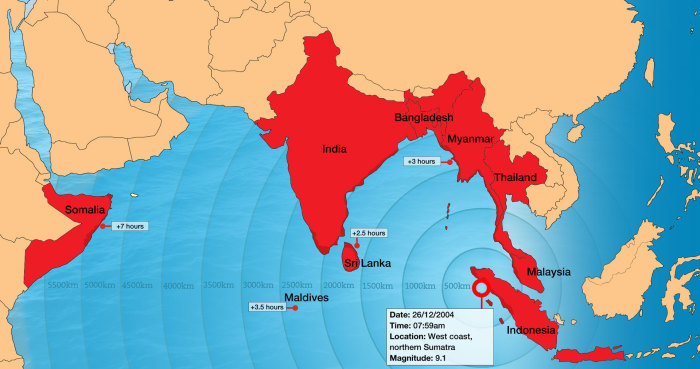 tsunami map 2004