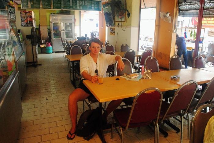 Malezja Zachodnia - w knajpie na wyspie Penang.