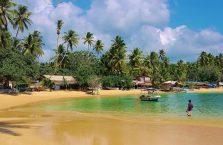 Sri Lanka - Unawatuna, Ocean Indyjski.