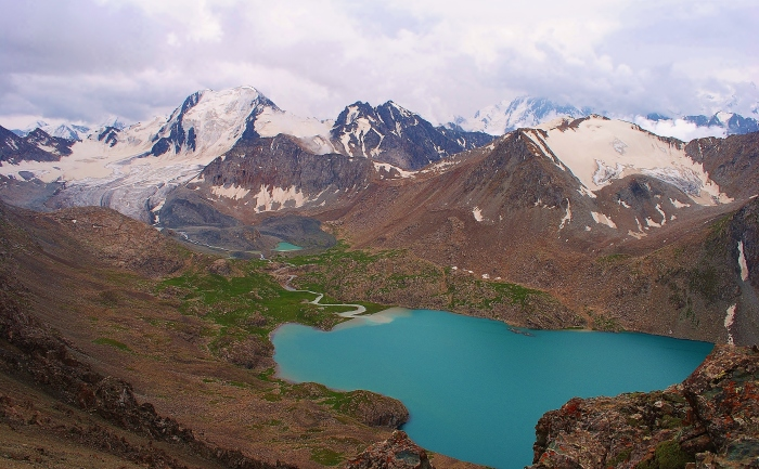 Jezioro Ala-Köl.