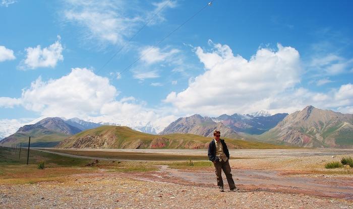 Kirgiska część Trasy Pamirskiej
