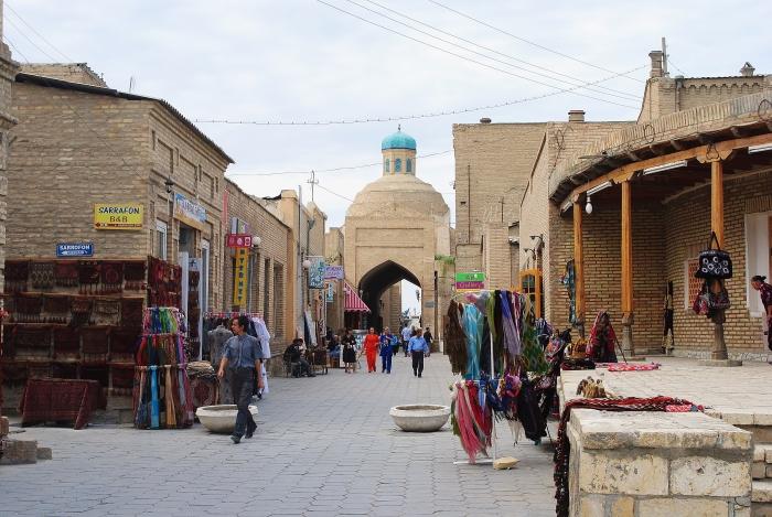 Bukhara - jeden z wielu centrów handlowych na antycznym Jedwabnym Szlaku.