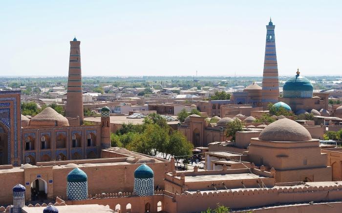 Uzbekistan - stare miasto Khiva.