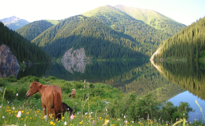 Drugie Jezioro Kolsay.