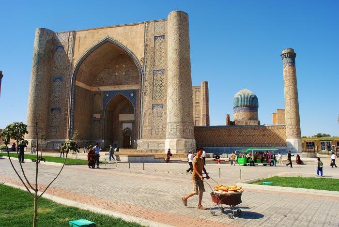 Samarkanda - perła Jedwabnego Szlaku.