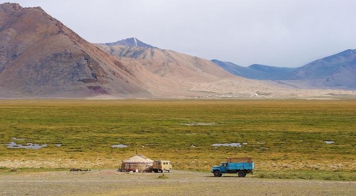 Tadżykistan - otwarte przestrzenie