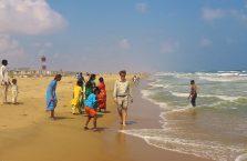Indie - Zatoka Bengalska w Chennai (Madras).
