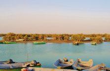 Iran - wody śródlądowe na wyspie Qeshm w Zatoce Perskiej.