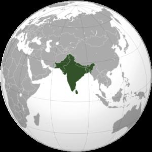 Azja Południowa (Subkontyent Indyjski).