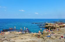 Liban - Morze Śródziemne.