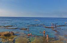 Liban - Morze Śródziemne koło Bejrutu.
