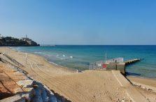 Izrael - Morze Śródziemne widziane z Tel Avivu.