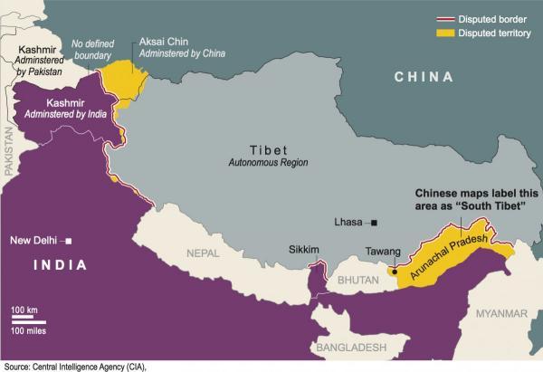 Roszczenia terytorialne Chin