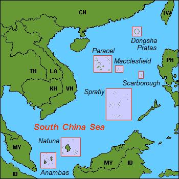 Roszczenia Chin na Morzu Południowo Chińskim