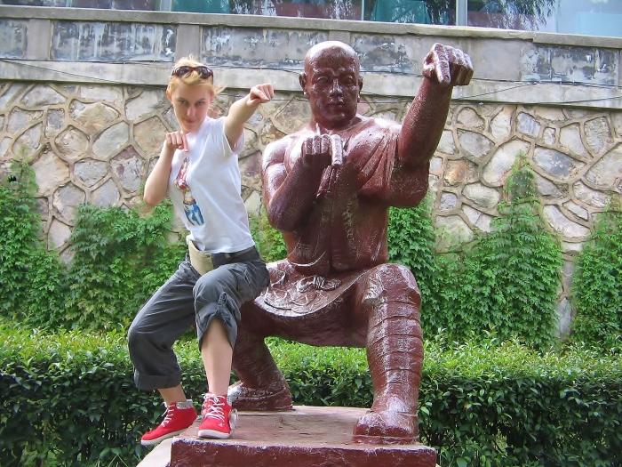 Klasztoru Shaolin.