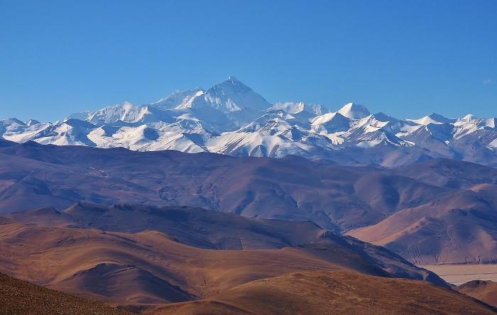 Mount Everest, Tybet.