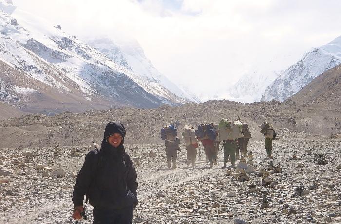 Tybet Mount Everest.
