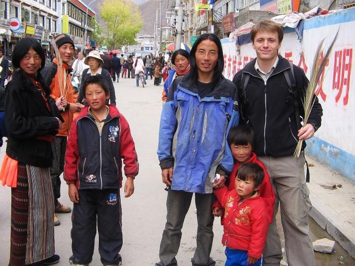 Tybetańczycy.