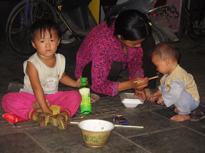 Bieda w Chinach.