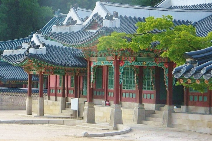Seul - detale na jednej ze świątyń.