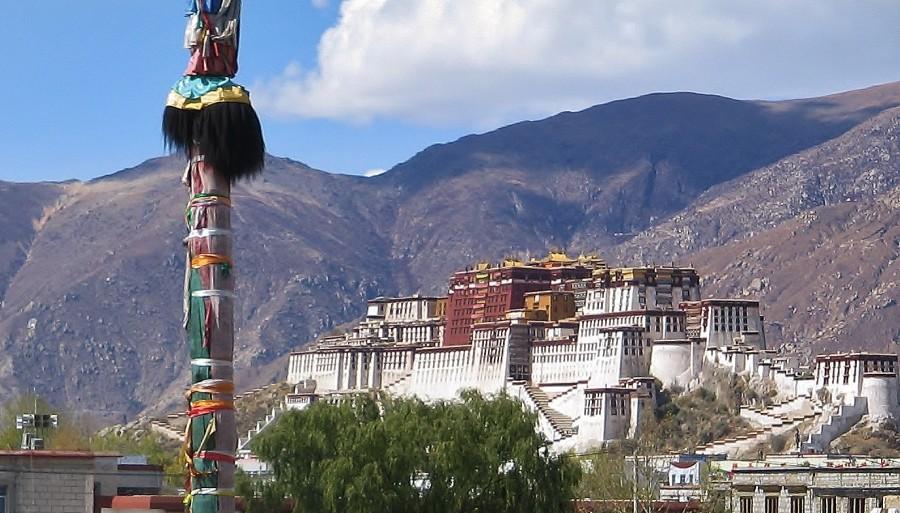 Potala Palace. Tibet.