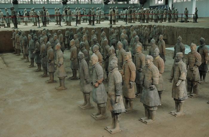 Armia Terakotowa. Chiny.
