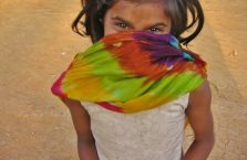 Nepal - tajemnicza dziewczynka.