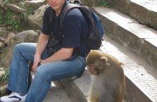 Nepal - ja i mój kolega myśleliśmy jak przejąć kontrolę nad światem.