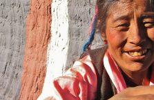 Tybet - ujęcie z bliska.