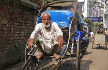 Indie - rykszarz w Kalkucie.