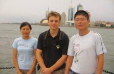 Chiny - z parą młodych Chińczyków.