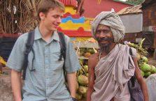 Indie - wesoły turban.