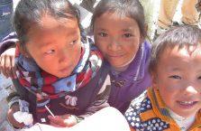Tybet - dzieci.