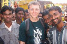 Indie - z Hindusami.