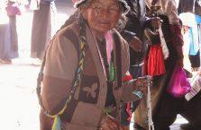 Tybet - biedna babcia.